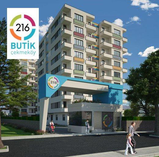 216 Butik Çekmeköy'de Apsiyon'lu Hayat Başladı.