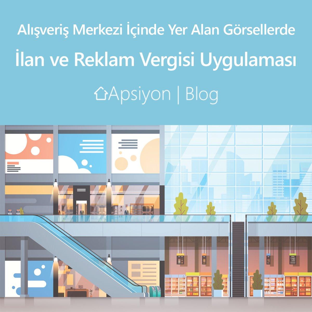 Alışveriş Merkezi İçinde Yer Alan Görsellerde İlan Ve Reklam Vergisi Uygulaması