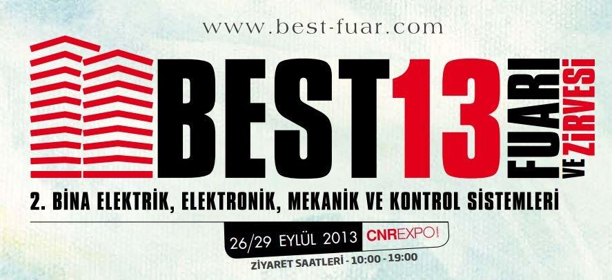 Best 2013 Fuarı'na Davetlisiniz