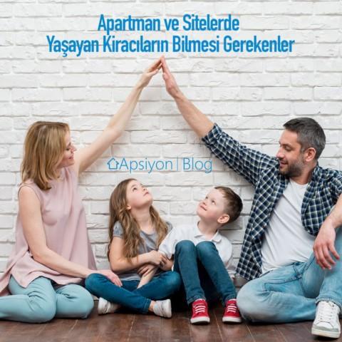 Apartman, Sitelerde Yaşayan Kiracıların Bilmesi Gerekenler