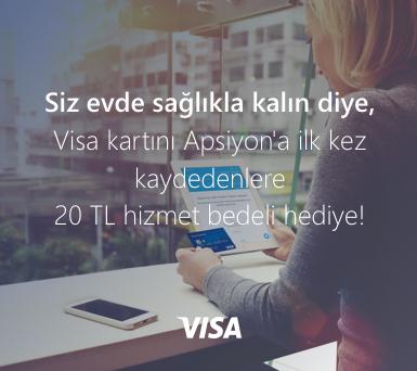 Visa Kredi Kartı ile Kart Saklama Kampanyası