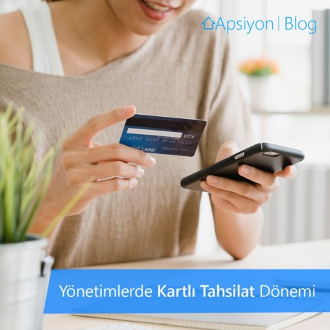 """2013 yılında Apsiyon sayesinde yönetimlerin hayatına giren """"Kart ile Online Tahsilat"""" oranı her geçen gün artıyor!"""