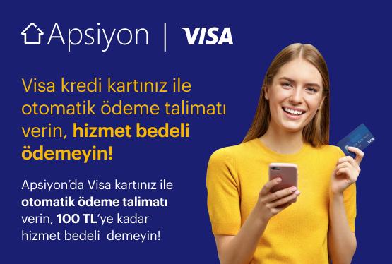 Visa Kredi Kartı ile Otomatik Ödeme Kampanyası