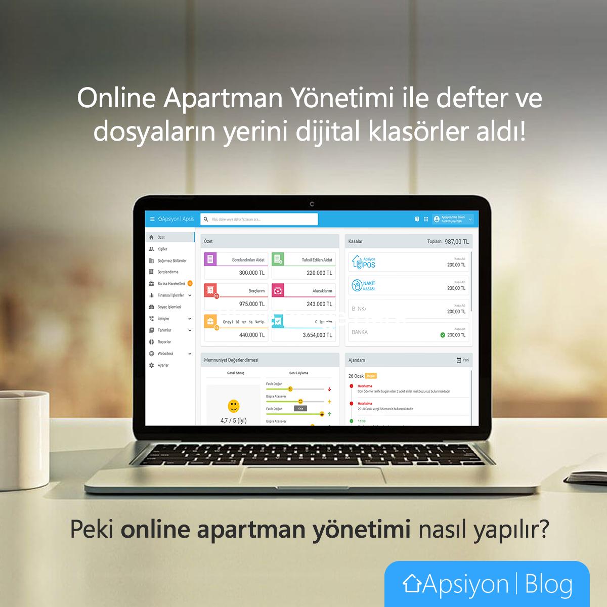Online Apartman Yönetimi Nasıl Yapılır?