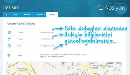Web sayfası alanında yapılan yenilikler...