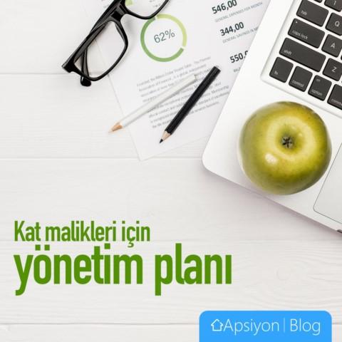 Kat Malikleri için Yönetim Planı