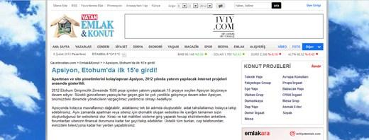 gazetevatan.com - Apsiyon, Etohum'da ilk 15'e girdi!