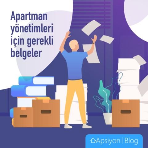 Apartman Yönetimi İçin Gerekli Belgeler Nelerdir?