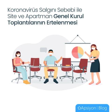 Koronavirüs Sebebi ile Genel Kurul Toplantıların Ertelenmesi